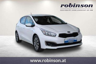 Kia Ceed / cee'd cee'd 1,4 MPI Silber bei Autohaus Robinson KG in